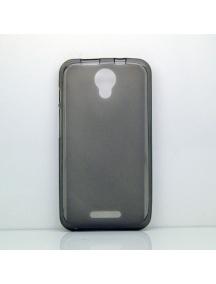 Funda TPU Alcatel Pixi 4 5.0 3G 5010x negra transparente
