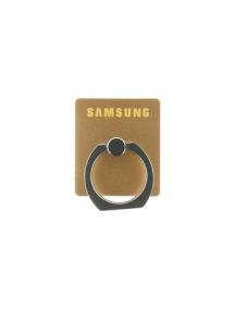 Anillo trasero Samsung dorado
