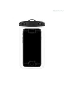 Bolsa impermeable Usams YD009 waterproof con sensor de huella negra
