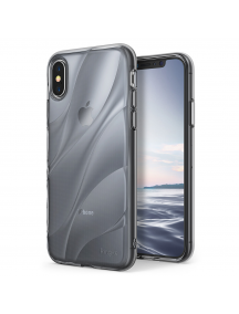 Funda TPU Ringke Flow iPhone X gris