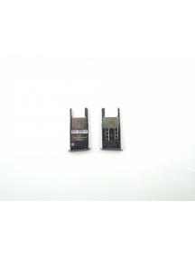 Zócalo de SIM + micro SD Motorola Moto G5 versión mono SIM