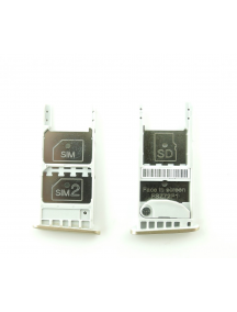 Zócalo de SIM + micro SD Motorola Moto G5 versión dual SIM dorado
