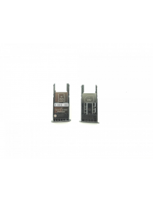 Zócalo de SIM + micro SD Motorola Moto G5 Plus versión mono SIM negro