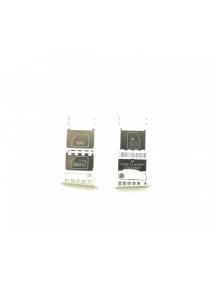 Zócalo de SIM + micro SD Motorola Moto G5 Plus versión dual SIM dorado