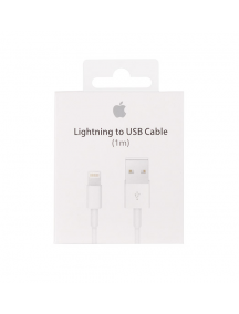 Cable USB Apple MD818ZM iPhone 5 - 5S - SE - 6 - 6 Plus - 6s - 6s Plus - 7 - 7 Plus - 8 - 8Plus - X