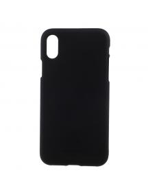 Funda TPU Goospery Soft iPhone X negra