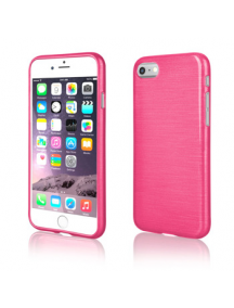 Funda TPU Metallic iPhone 7 - 8 rosa