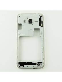 Carcasa intermedia Samsung Galaxy J3 2016 J320 dorada