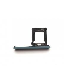 Zócalo de tarjeta micro SD Sony Xperia XZ1 G8441 compact azul