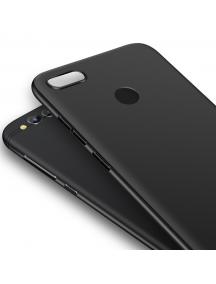 Funda TPU Matt Huawei Honor 7X negra