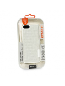 Protector rígido trasero de carbono Cygnett iPhone 5 - 5S . SE blanco