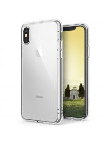 Funda TPU + Bumper Ringke Fusion iPhone X transparente