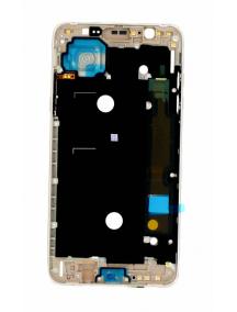 Carcasa intermedia Samsung Galaxy J7 2016 J710 dorada