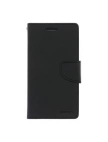 Funda libro TPU Goospery Bravo Diary iPhone 6 negra