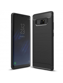 Funda TPU Carbon flexible Samsung Galaxy Note 8 N950 negra