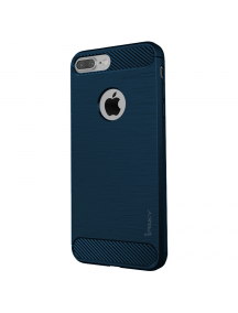 Funda TPU Carbon iPaky iPhone 7 Plus - 8 Plus azul