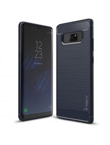 Funda TPU slim Carbon iPaky Samsung Galaxy Note 8 N950 azul