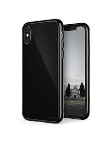 Funda TPU + Bumper Ringke Fusion iPhone X negra