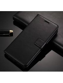 Funda libro TPU Huawei Honor 7C - Huawei Y7 2018 negra