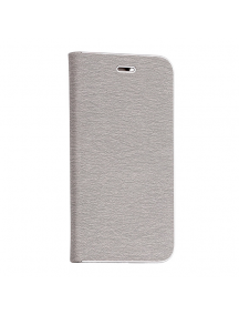 Funda libro Vennus Huawei P Smart gris