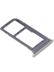 Zócalo de SIM + SD Samsung Galaxy S7 Edge G935 plata