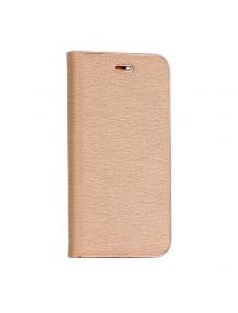 Funda libro Vennus iPhone 7 Plus - 8 Plus dorada