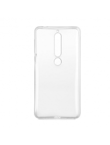 Funda TPU 0.5mm Nokia 6.1 2018 transparente