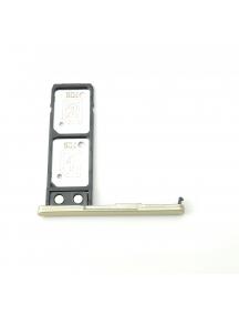 Zócalo de SIM Sony Xperia L2 H3311 - H4311 dorada