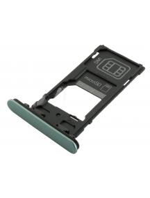 Zócalo de SIM + micro SD Sony Xperia XZ2 Compact H8324 verde oscuro