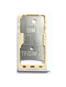 Zócalo de SIM + SD Xiaomi Redmi 5A gris