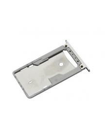 Zócalo de SIM + SD Xiaomi Note 4 - 4X plata