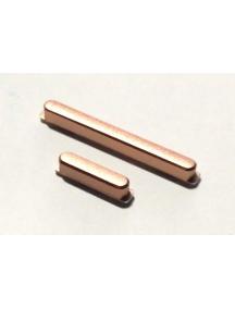 Botones externos de encendido y volumen Sony Xperia XZ2 Compact H8324 rosa