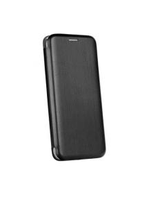Funda libro Forcell Elegance Samsung Galaxy J4 2018 J400 negra