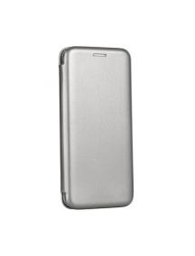 Funda libro Forcell Elegance Samsung Galaxy J4 2018 J400 gris