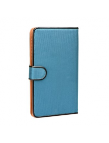 "Funda libro tablet Fancy universal 7"" - 8"" azul"