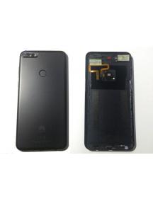 Carcasa trasera Huawei Y7 2018 negra