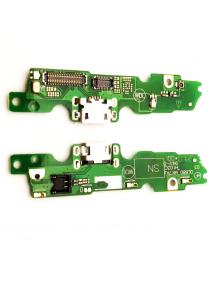 Placa de conector de carga Lenovo Moto G5
