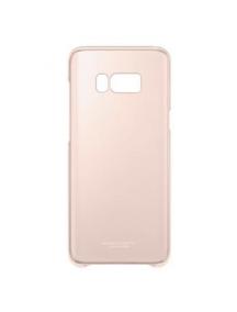 Protector rígido Samsung EF-QG955CPE Galaxy S8 Plus G955 transparente - rosa