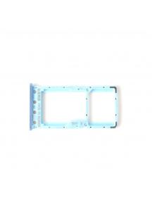 Zócalo de SIM + SD Xiaomi Redmi 6 - 6A azul