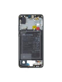 Carcasa intermedia Huawei P20 azul