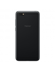 Carcasa trasera Honor 7S - Huawei Y5 2018 negra