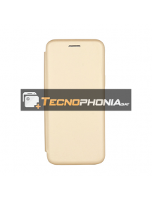 Funda libro Vennus Soft Samsung Glaxy S9 Plus G965 dorada