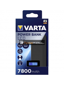 Power Bank Dual LCD Varta 7800mAh