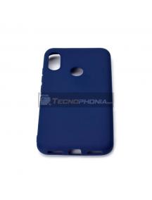 Funda TPU Flash Mat Xiaomi Mi A2 azul