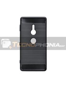 Funda TPU Carbon Sony Xperia XZ2 H8266 negra