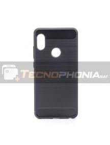Funda TPU carbon Xiaomi Redmi Note 5 Plus negra