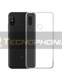 Funda TPU Xiaomi Redmi Note 6 Pro transparente