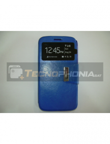 Funda libro TPU S-view Alcatel 1X azul