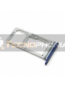 Zócalo de SIM + micro SD Samsung Galaxy Note 9 N960 azul