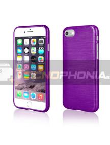Funda TPU Metallic iPhone 7 - 8 violeta